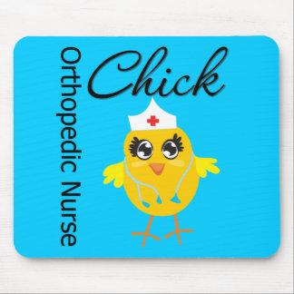 Orthopedic Nurse  Chick v1 Mouse Pad