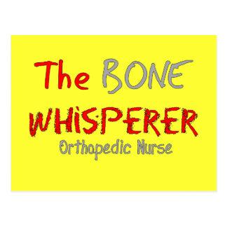"Orthopedic Nurse ""THE BONE WHISPERER"" Postcard"