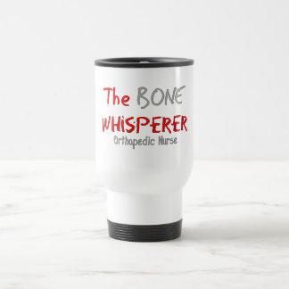 """Orthopedic Nurse """"THE BONE WHISPERER"""" Travel Mug"""