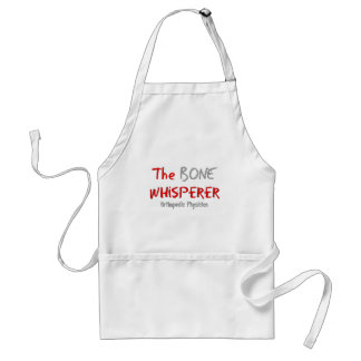 "Orthopedic Physician ""The Bone Whisperer"" Adult Apron"
