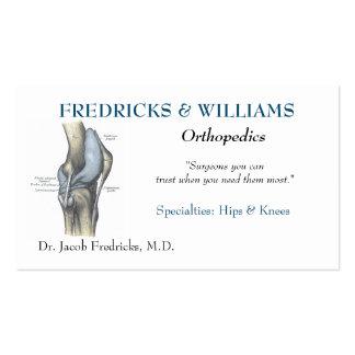 Orthopedic Surgeon Business Card