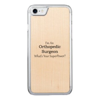 Orthopedic Surgeon Carved iPhone 7 Case