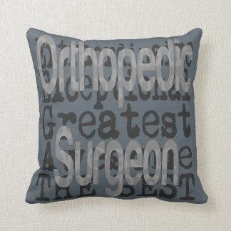 Orthopedic Surgeon Extraordinaire Throw Pillow