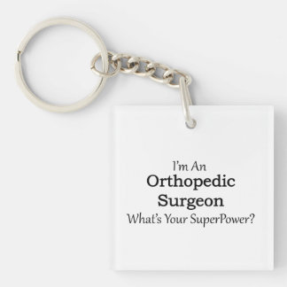 Orthopedic Surgeon Keychain