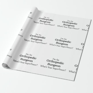 Orthopedic Surgeon Wrapping Paper