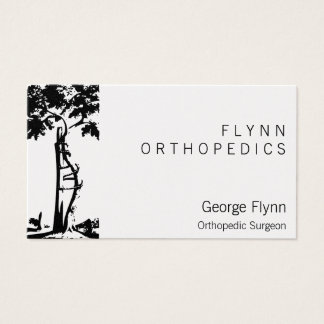 Orthopedic Surgery Crooked Tree Business Card