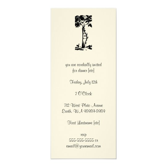 Orthopedic Surgery Crooked Tree Card