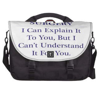 Orthopedic Surgery .. Explain Not Understand Laptop Bags