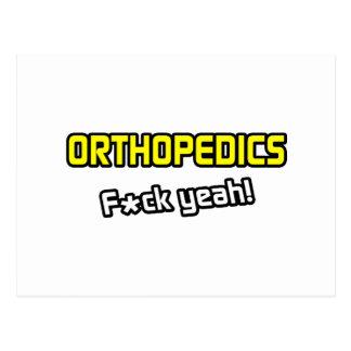 Orthopedics ... F-ck Yeah! Postcard