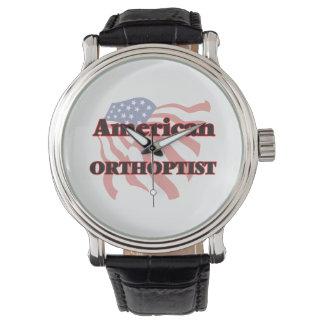 Orthoptist americano relojes de pulsera