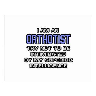 Orthotist Joke ... Superior Intelligence Postcard