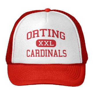 Orting - cardenales - alto - Orting Washington Gorro