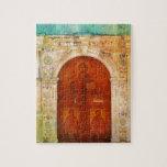 Ortodoxo griego del Jesucristo de la puerta Rompecabeza