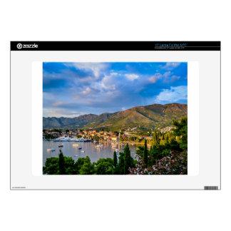 "ortofino fishing village,luxury harbour,Ligurian Decals For 15"" Laptops"