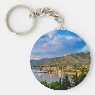 ortofino fishing village,luxury harbour,Ligurian Keychain