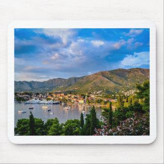 ortofino fishing village,luxury harbour,Ligurian Mouse Pad