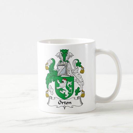 Orton Family Crest Mugs