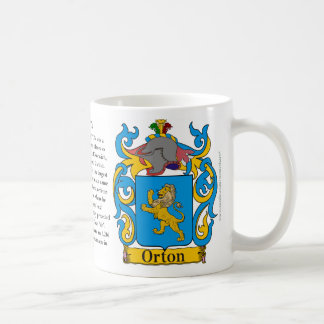 Orton, the Origin, the Meaning and the Crest Coffee Mug