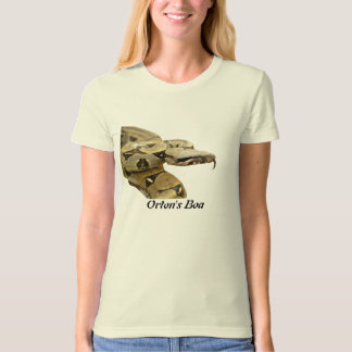 Orton's Boa Ladies Organic T-Shirt (Fitted)