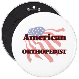 Ortopedista americano pin redondo 15 cm