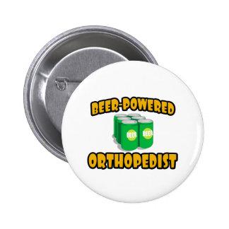 Ortopedista Cerveza-Accionado Pin Redondo 5 Cm