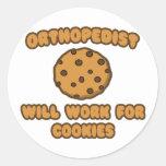 Ortopedista. Trabajará para las galletas Etiquetas