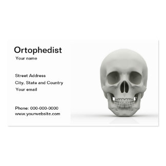 Ortophedist business card