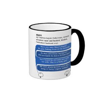 orujo tazas de café