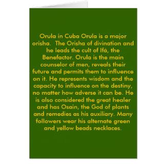 ORULA CARD