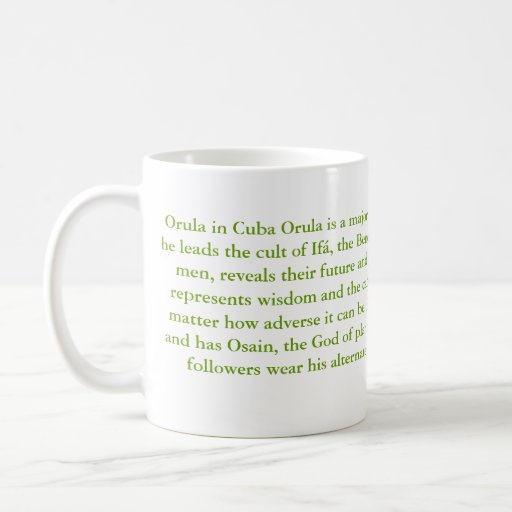 ORULA COFFEE MUG