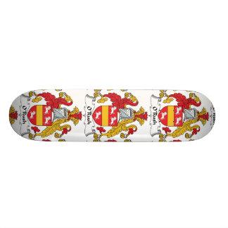 O'Rush Family Crest Skate Board Deck