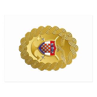 Oružane snage Hrvatska Postcard