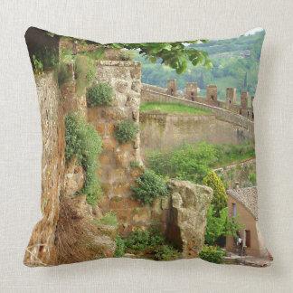 Orvieto Battlement Throw Pillow