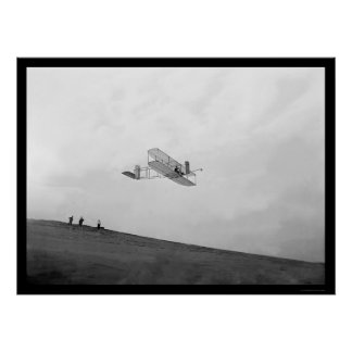 Orville Gliding Kitty Hawk 1901 Posters