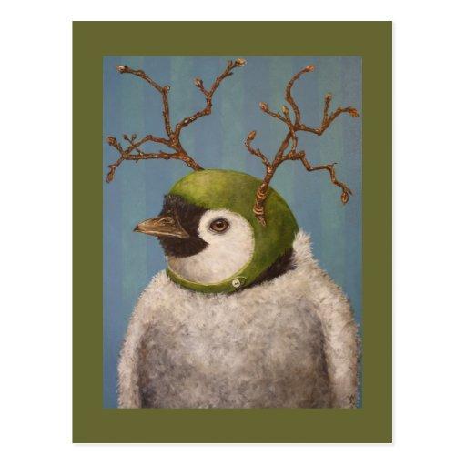 Orville la postal del pingüino