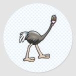 Orville Ostrich Stickers