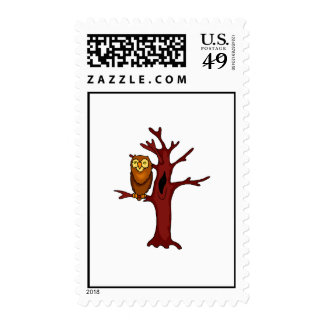 Orville Owl Postage Stamps