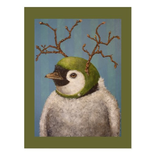 Orville the penguin postcard