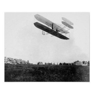 Orville Wright flying at Fort Myer, Sept 9, 1908 Poster