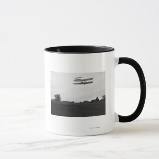 Orville Wright on Flight 41 at 60 foot high Mug