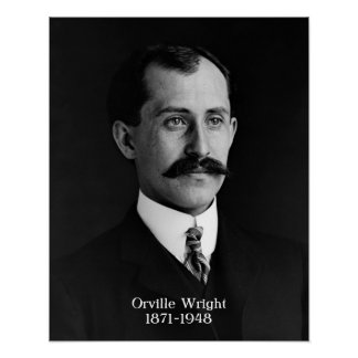 """Orville Wright poster 16""""x20"""""""