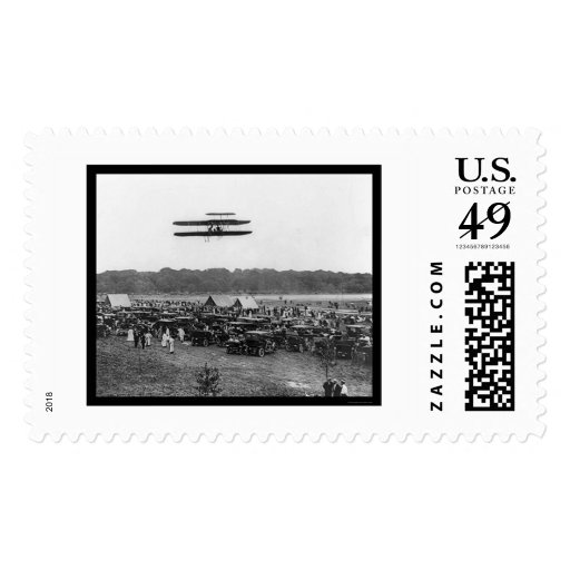 Orville Wright Record Flight 1909 Stamps