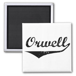 Orwell 2 Inch Square Magnet