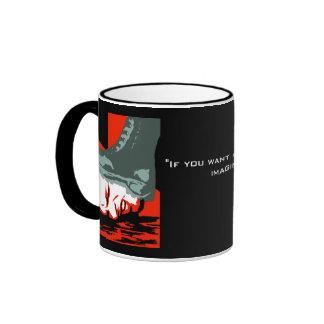 Orwell Boot Mug