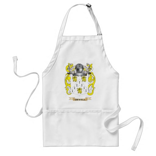 Orwell Coat of Arms (Family Crest) Adult Apron