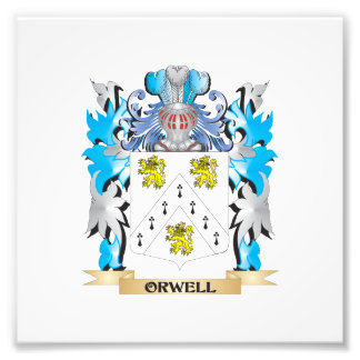 Orwell Coat of Arms - Family Crest Photo Art
