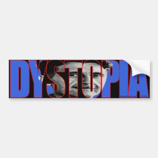Orwell Dystopia Bumper Sticker
