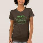 Orwell en guerra camiseta