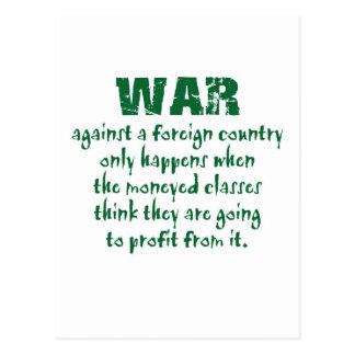 Orwell en guerra tarjetas postales