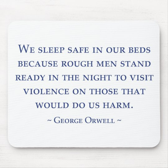 Orwell Mouse Pad